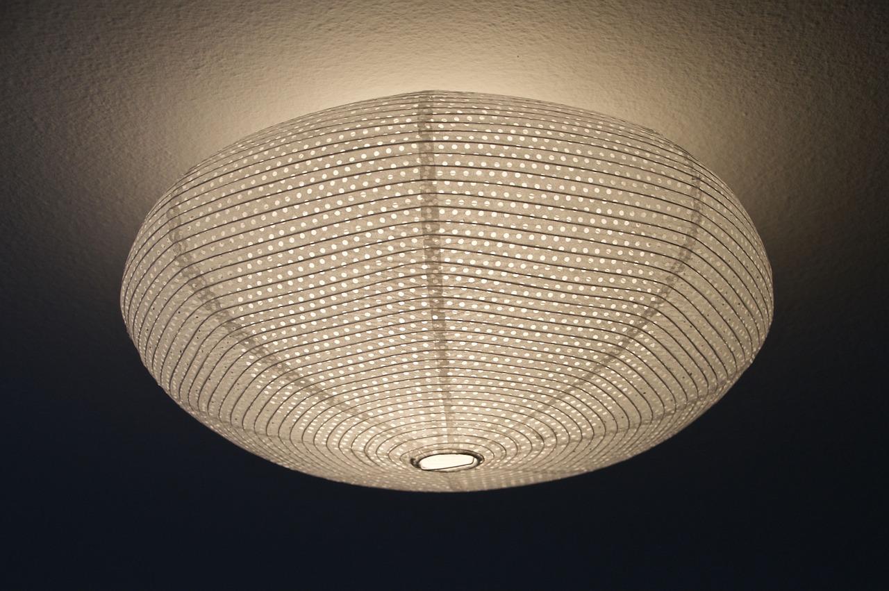 Zoom sur le plafonnier LED
